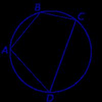 Углы четырехугольника вписанного в окружность относятся как 3 2
