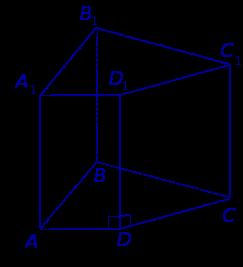 Прямая четырехугольная призма