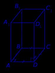 Правильная четырехугольная призма